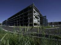 Estacionamento do futuro fornecerá eletricidade para as residências